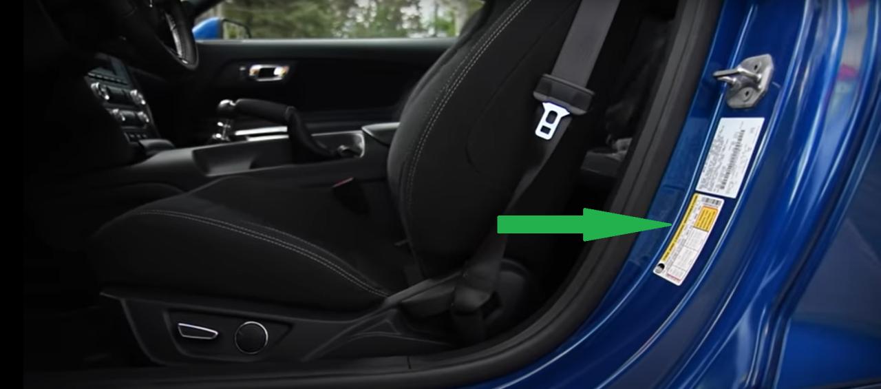 Pressure-tire-instruction-location
